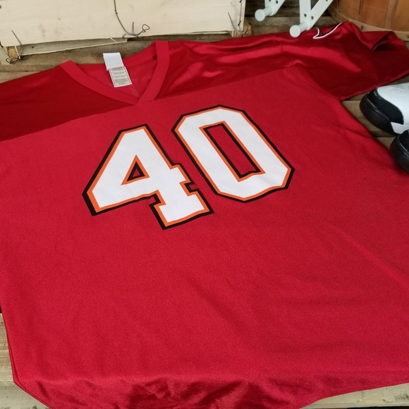 sports shoes 4b021 0424a Mike Alstott Tampa Bay Buccaneers Jersey 325